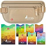 RFID Schutz Bauchtasche Damen und Sicherheits Gürteltasche Herren zum Verreisen mit RFID Schutzhüllen für den täglichen Gebrauch/neustes